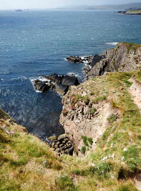The southwestern tip of Ness of Sound