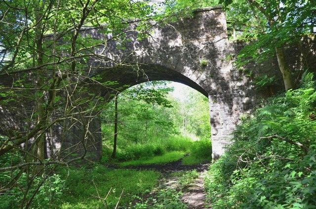 Bridge over the former Waverley Line