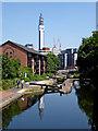 SP0687 : Farmer's Bridge Locks in Birmingham by Roger  Kidd