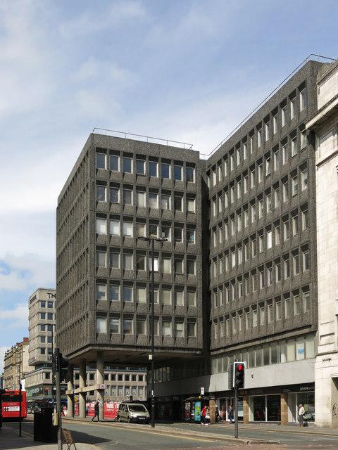Commercial Union House, Pilgrim Street, NE1