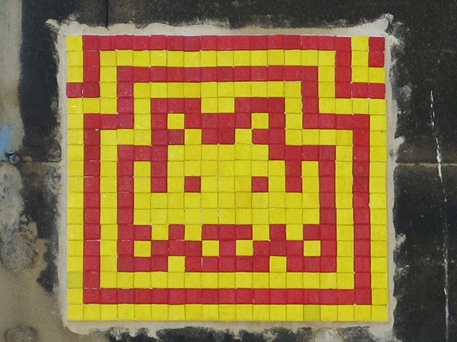 Ceramic tile public artwork, Eldon Lane, NE1