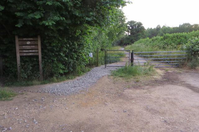 Bridleway to Ardley