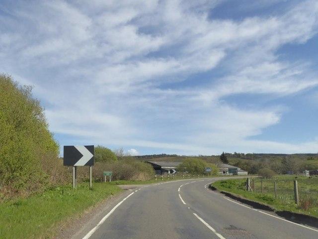 Bend at Kennacraig Farm
