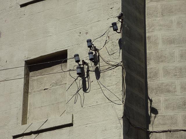 Former Wakefield Mechanics' Institution, phone lines