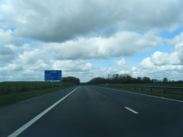 A1(M) north of Junction 57