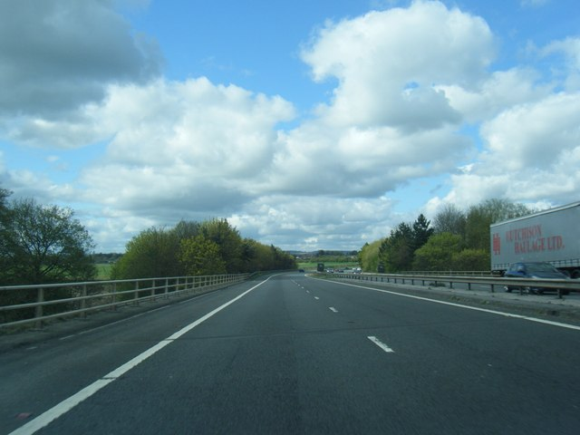 A1(M) crosses the River Tees