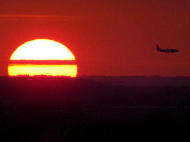 Littledown: just before touchdown, just before sundown