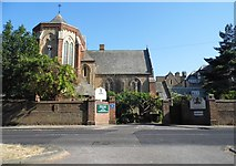 TR3269 : St Augustine's Church, Westgate-on-Sea by David Howard