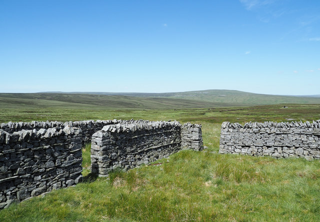 Sheepfold on north-west slope of Little Fell