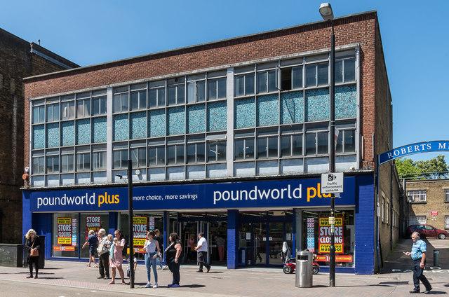 Poundworld Plus - closing down