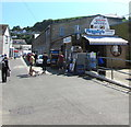 SX2553 : Pengelly's Fishmongers, The Quay, East Looe by Jaggery