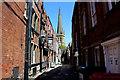 SE3320 : Bread Street, Wakefield by Chris Heaton