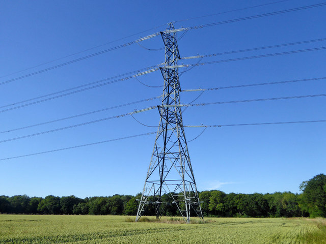Power line tower ZV194