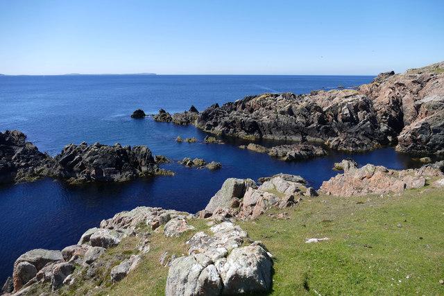 Skerries off the SW coast of Muckle Roe