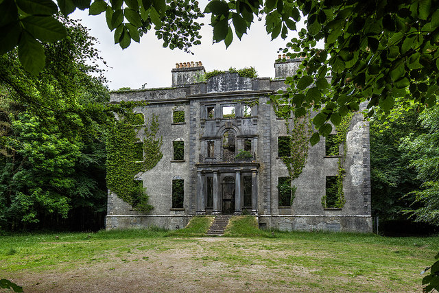 Ireland in Ruins: Moore Hall, Co. Mayo (1)