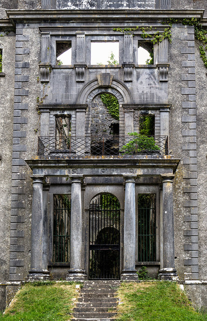 Ireland in Ruins: Moore Hall, Co. Mayo (2)