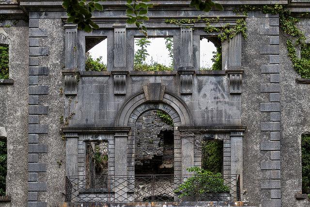 Ireland in Ruins: Moore Hall, Co. Mayo (3)