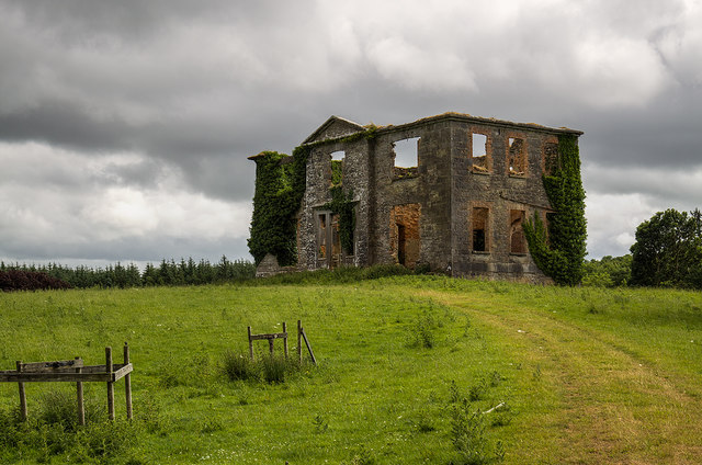 Ireland in Ruins: Raheens House, Co. Mayo (2)