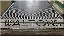 NZ2464 : Tiled flooring, Grainger Market, Grainger Street, NE1 by Mike Quinn