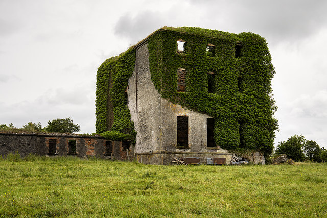 Ireland in Ruins: Castle Gore, Co. Mayo (1)