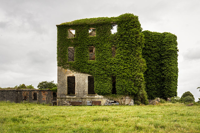 Ireland in Ruins: Castle Gore, Co. Mayo (2)