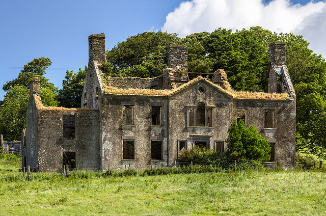 Ireland in Ruins: Summerhill House, Co. Mayo (2)