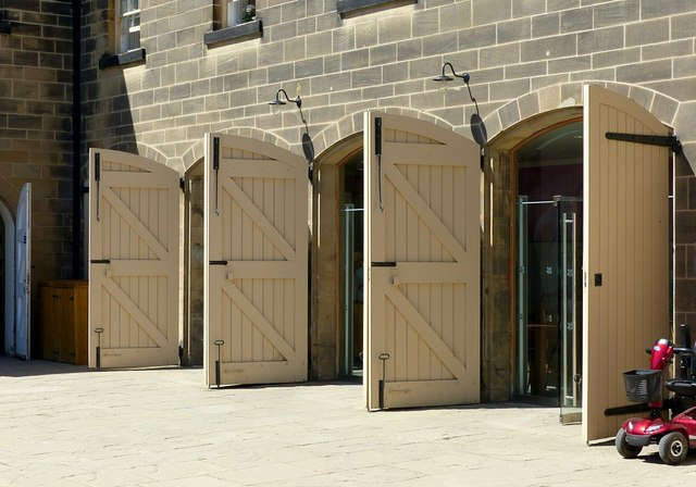 Four doors, Nostell Priory
