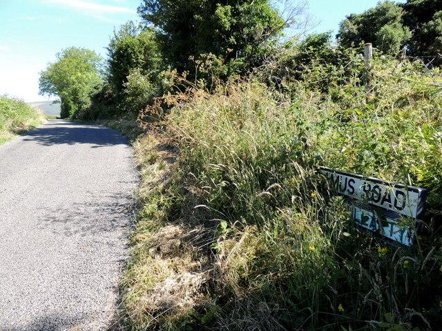 Camus Road, Ballymullarty by Kenneth  Allen