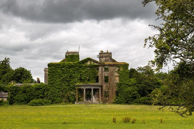 Ireland in Ruins: Clonbrock House, Co. Galway (1)
