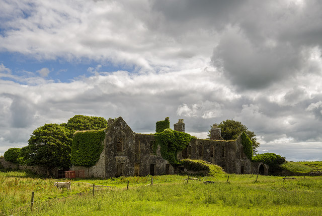 Ireland in Ruins: Gallagh House, Co. Galway (1)