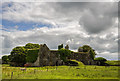 M4755 : Ireland in Ruins: Gallagh House, Co. Galway (1) by Mike Searle