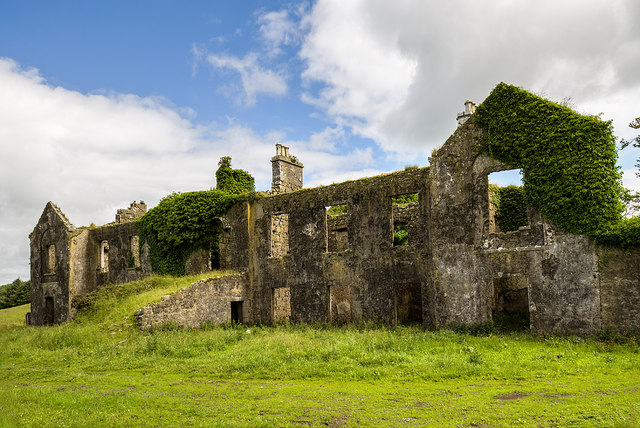 Ireland in Ruins: Gallagh House, Co. Galway (3)