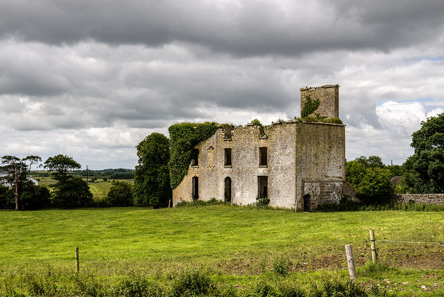 Ireland in Ruins: Castlemoyle House, Co. Galway