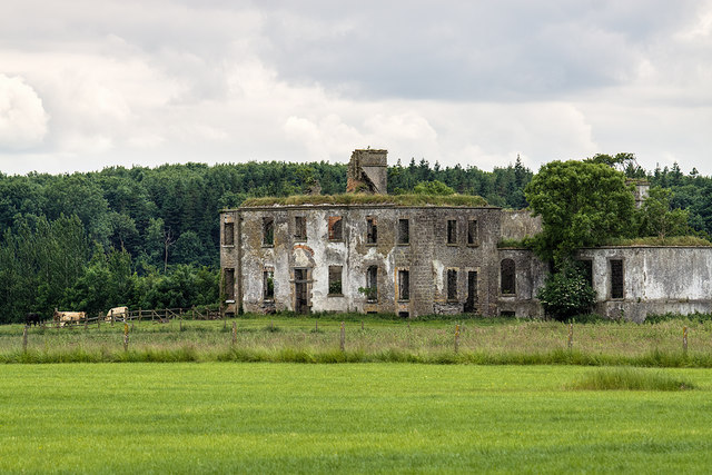 Ireland in Ruins: Brooklodge House, Co. Galway