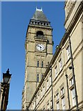 SE3320 : Town Hall tower, Wakefield by Alan Murray-Rust