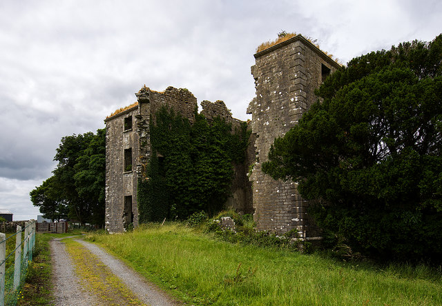 Ireland in Ruins: Hampstead House, Co. Galway (1)