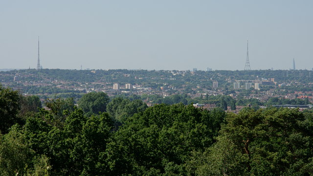 View From Shirley Hills