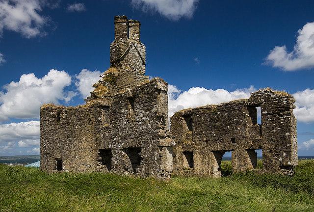 Castles of Connacht: Inishcrone, Sligo (2)