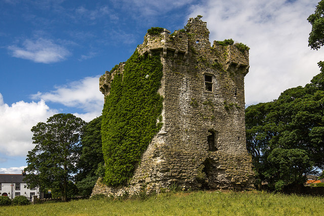 Castles of Connacht: Shrule, Mayo - revisited (4)