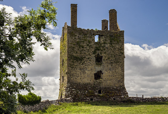 Castles of Connacht: Kinlough, Mayo - revisited (1)