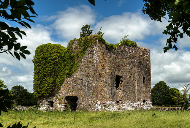 Castles of Connacht: Moyne, Mayo - revisited (1)