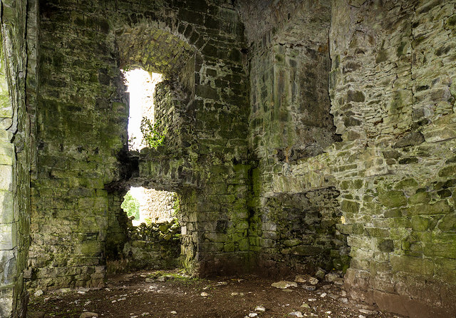Castles of Connacht: Moyne, Mayo - revisited (2)
