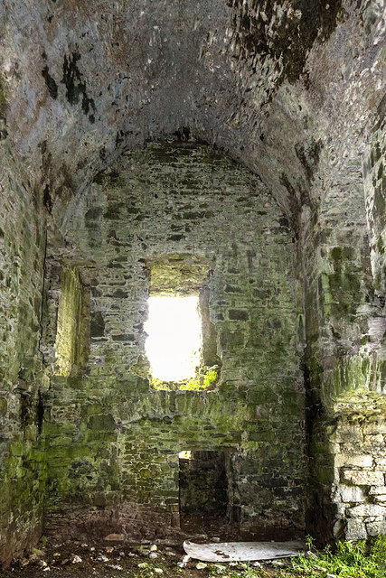 Castles of Connacht: Moyne, Mayo - revisited (4)