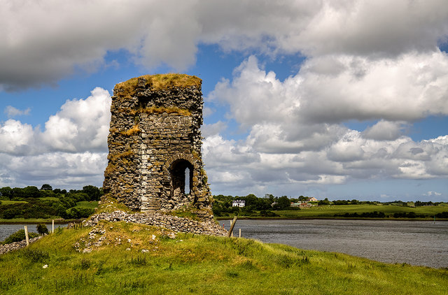 Castles of Connacht: Castle Connor, Mayo