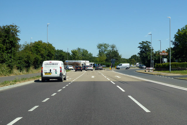 A2990 Thanet Way, Whitstable