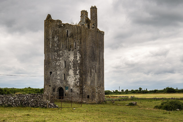 Castles of Connacht: Drumharsna, Galway (1)