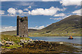 L7294 : Castles of Connacht: Carrickildavnet, Achill Island, Mayo by Mike Searle