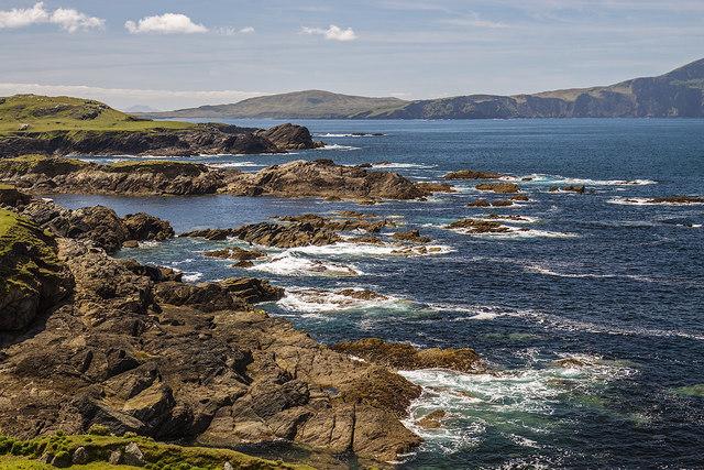 Coastal view from Atlantic Drive, Achill Island, Co. Mayo