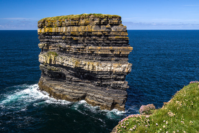 Dún Briste sea stack, Downpatrick Head, Co. Mayo (3)