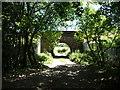 SD4665 : 'Pass under the West Coast Main Line railway bridge' by Christine Johnstone